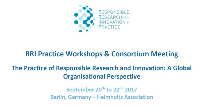 International Workshop and the Third Consortium Meeting will take place in Berlin