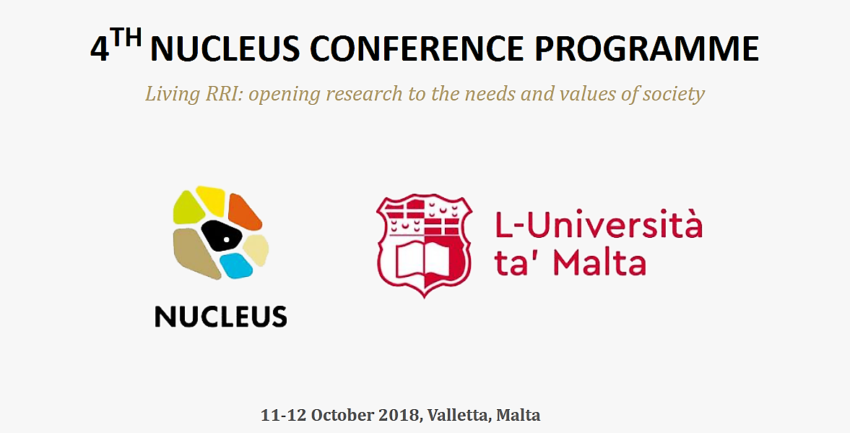 The 4th NUCLEUS Conference in Malta with participation of RRI-Practice team