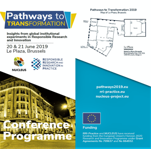 Register for Pathways to Transformation 2019 – 20 & 21 June, Brussels
