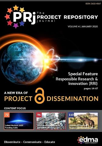 New edition of Project Repository Journal –  a special feature on RRI